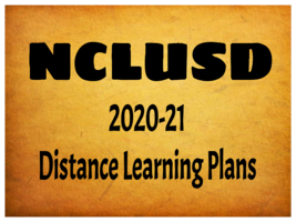 2020-21 Distance Learning Plans