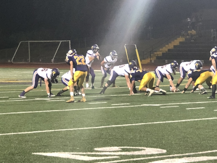 Varsity Football on Friday night at Bret Harte. OHS wins 50-27.