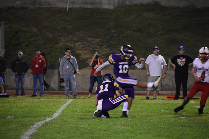 Kicking the extra point