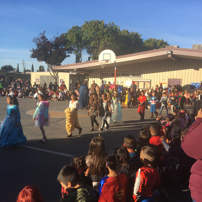 Second Grade Parade