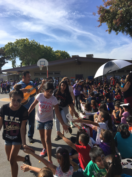 Fifth Grade Parade