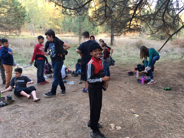 6th Graders at Outdoor Ed
