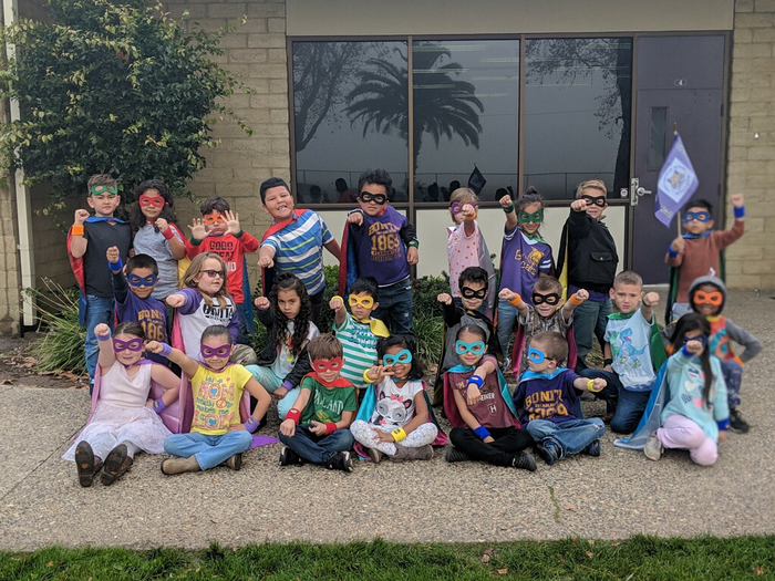 First Grade Super Hero Attendance