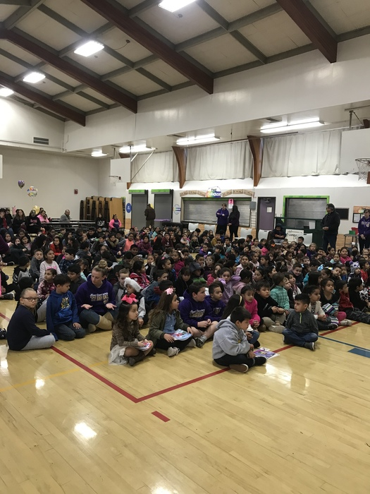 Hunt Student of the Month Assembly