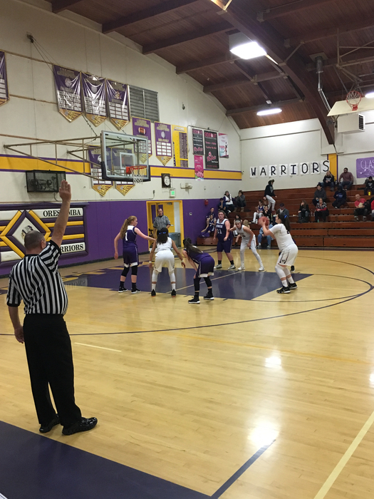 Girls Basketball against Denair