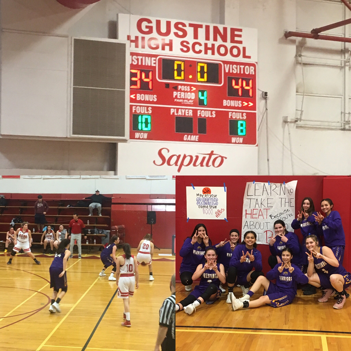 Warriors enjoyed a victory tonight in Gustine