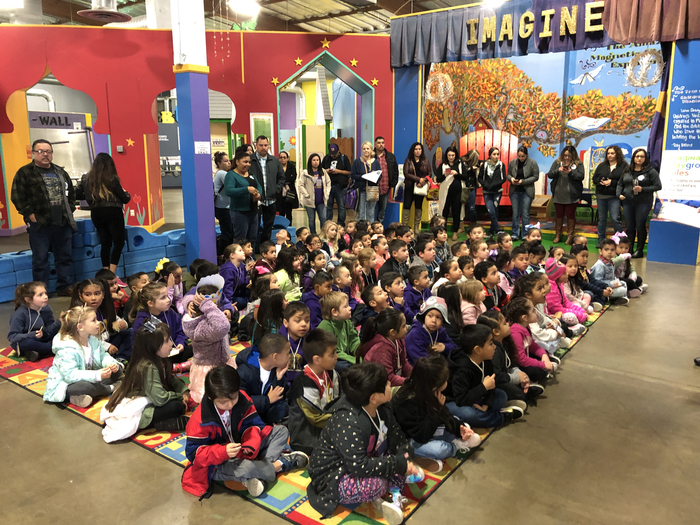 Kinders' Field Trip to Stockton's Children's Museum