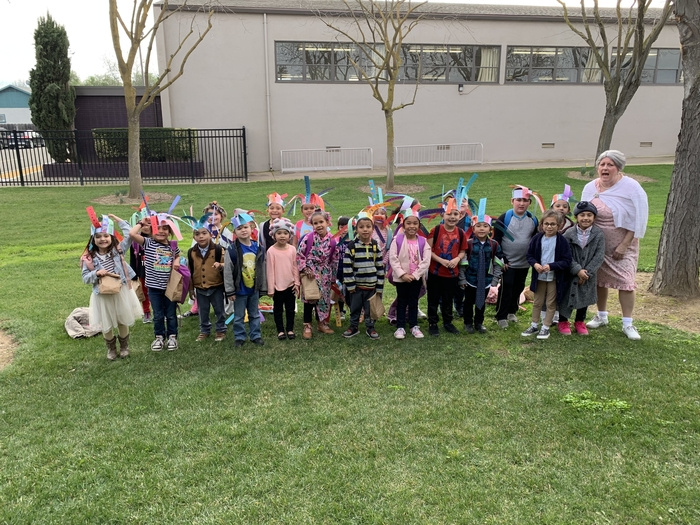 Happy 100th day from Mrs. Payne's Kindergarten class!