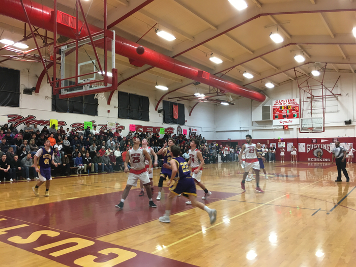 Boys Basketball at Gustine