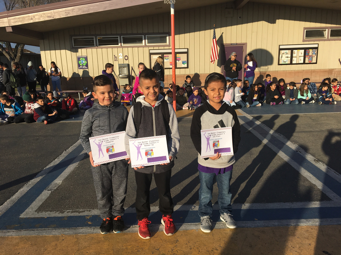 2nd Grade Connect Four Champions