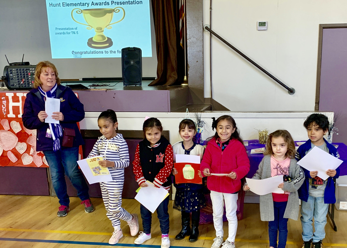 TK/Kinder Students of the Month: February