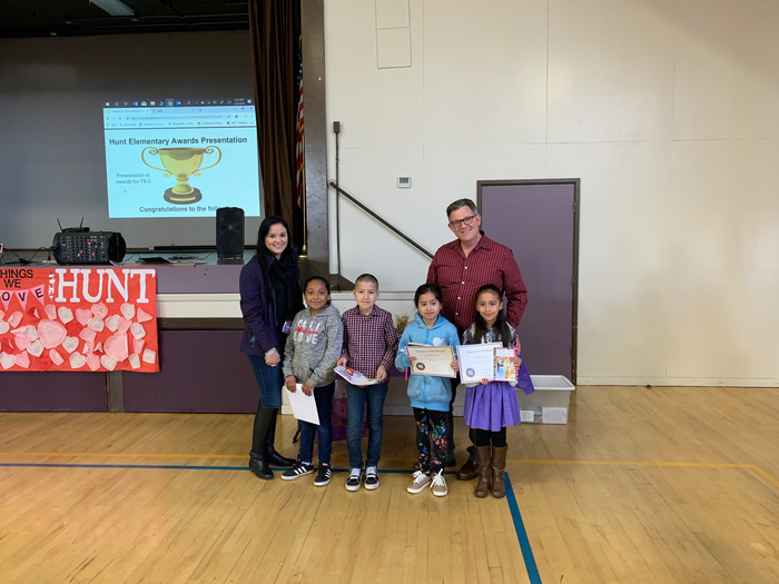 2nd Grade Students of the Month: February