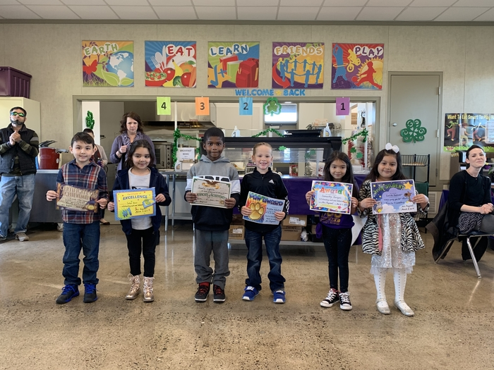 2nd Trimester Awards - Kindergarten