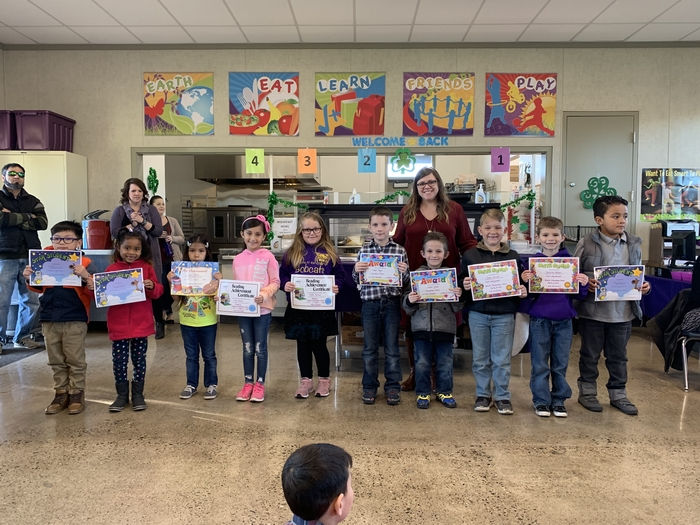 2nd Trimester Awards - 1st Grade