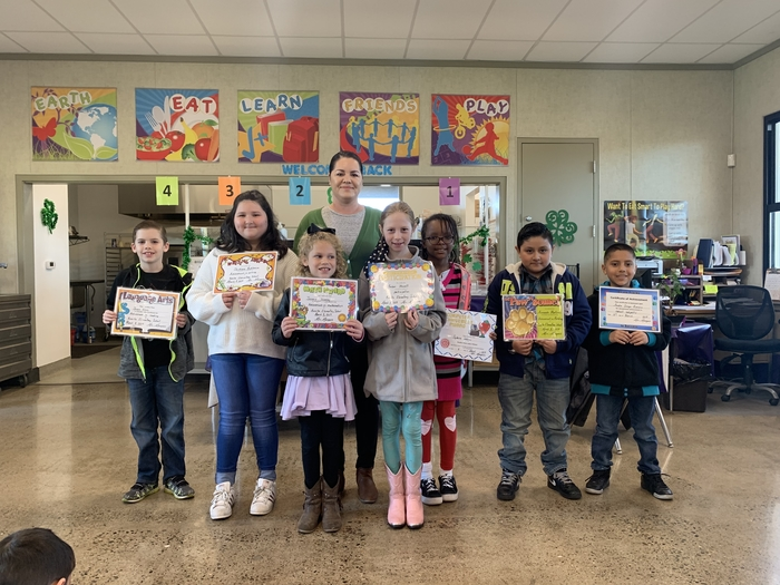 2nd Trimester Awards - 3rd Grade