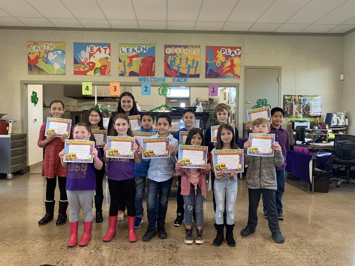 2nd Trimester Awards - Perfect Attendance