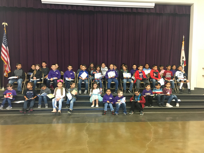 Students of the month for March