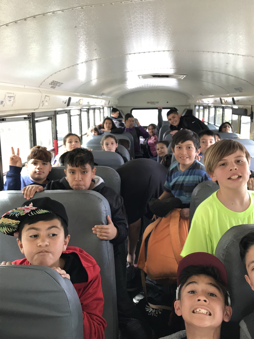 5th graders excited after their trip to UC Merced or future UC Merced students