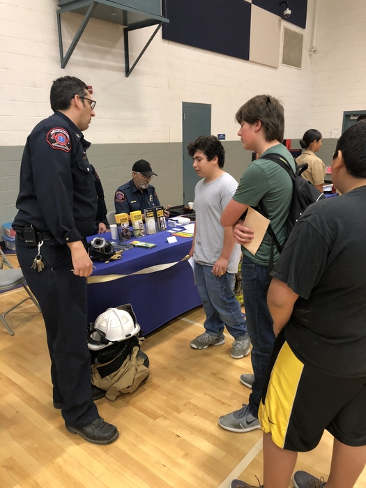First Responders at Career Day