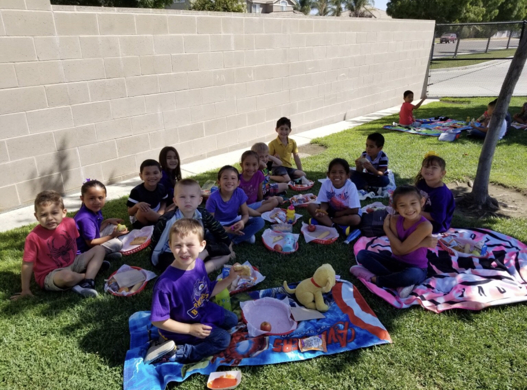 First picnic of the year for Barrington students.