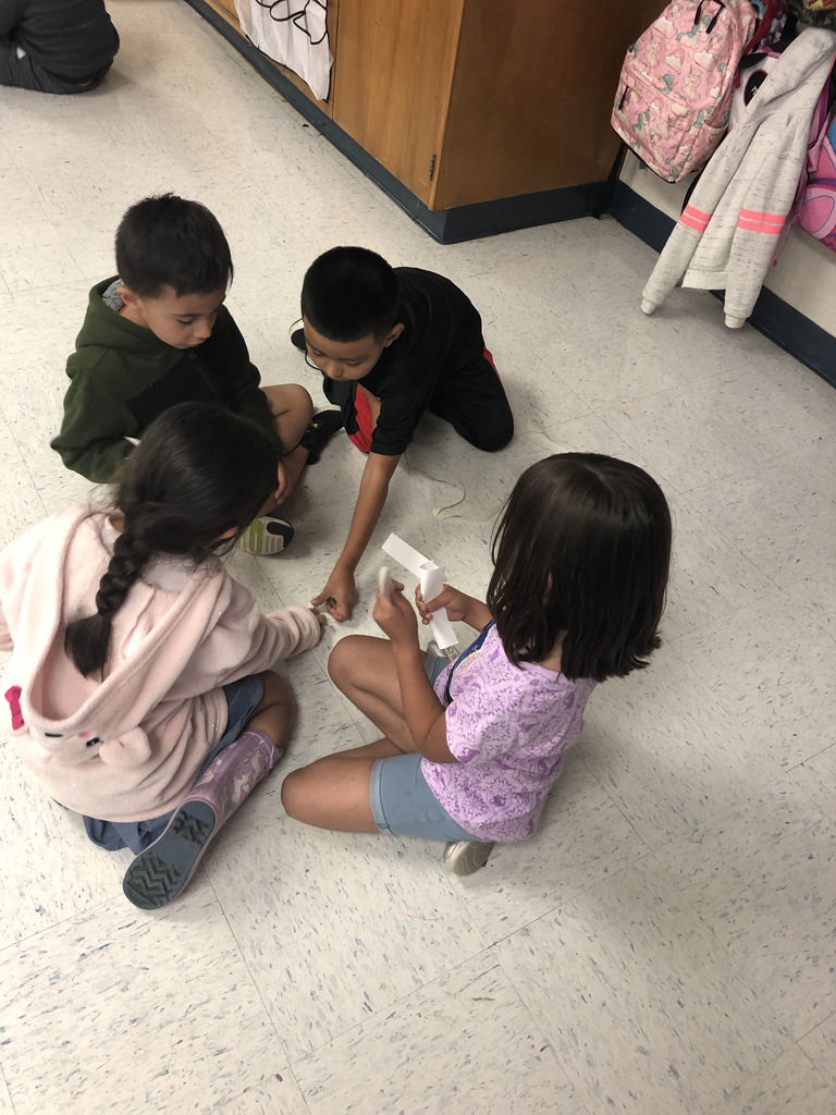 STEAM activity of Jack and the Beanstalk in Mrs, Dhaliwal's Kinder Class