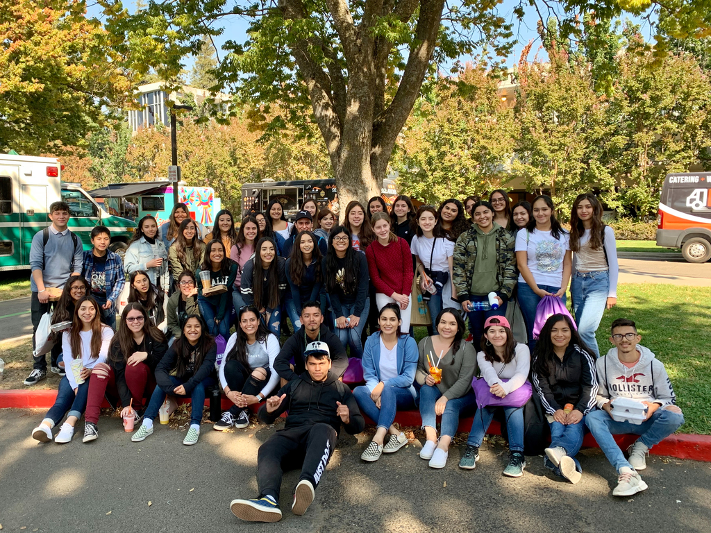 OHS students attend Feria de Educación at Sacramento State!