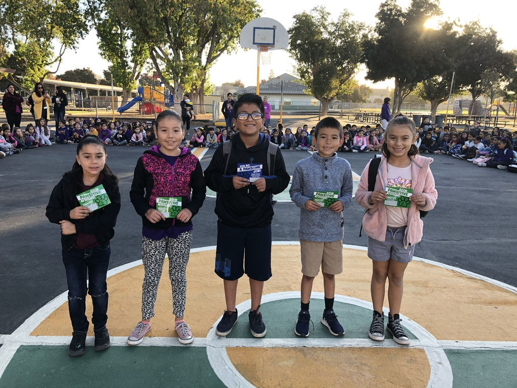 Pawsome students 10/25/19