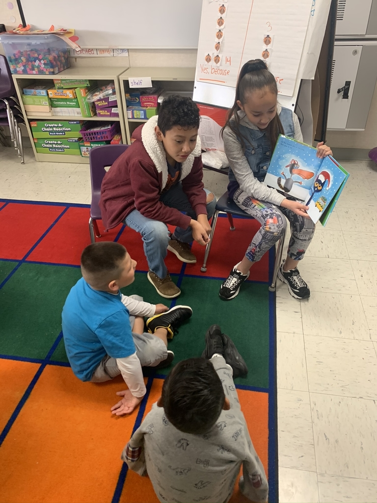 Reading Time with Kinder Students