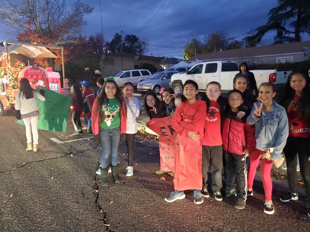 Safety Patrol in the Christmas Parade