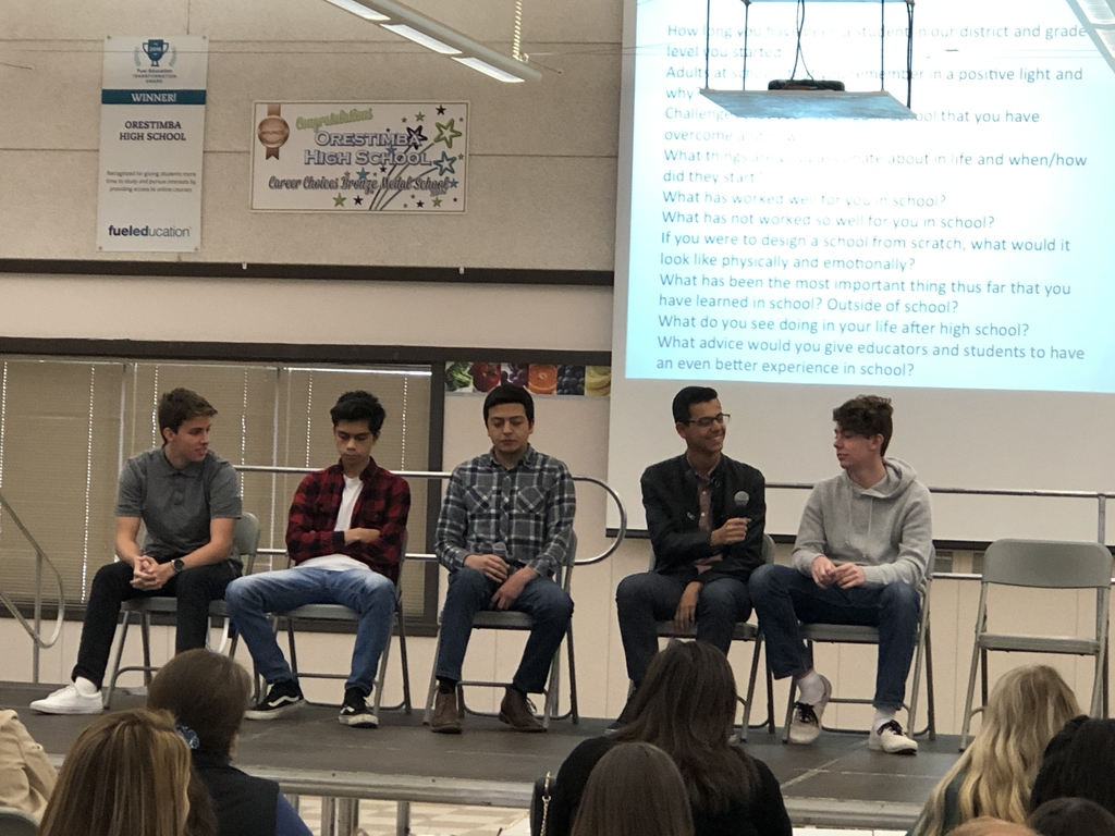 Student panel for professional development.