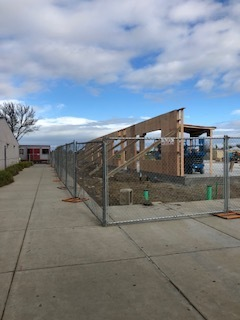 The classroom building is on its way!