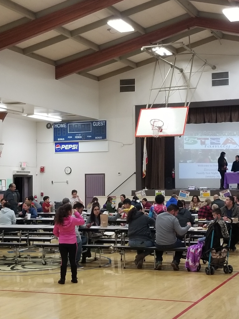 Hunt STEAM night