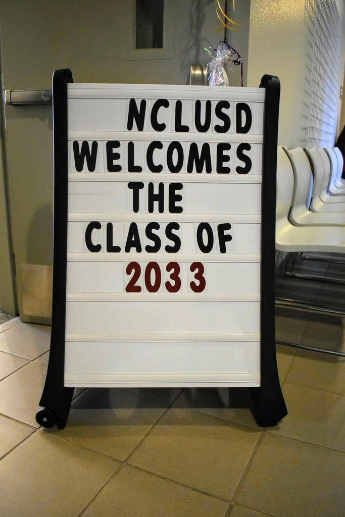NCLUSD Welcomes the Class of 2033
