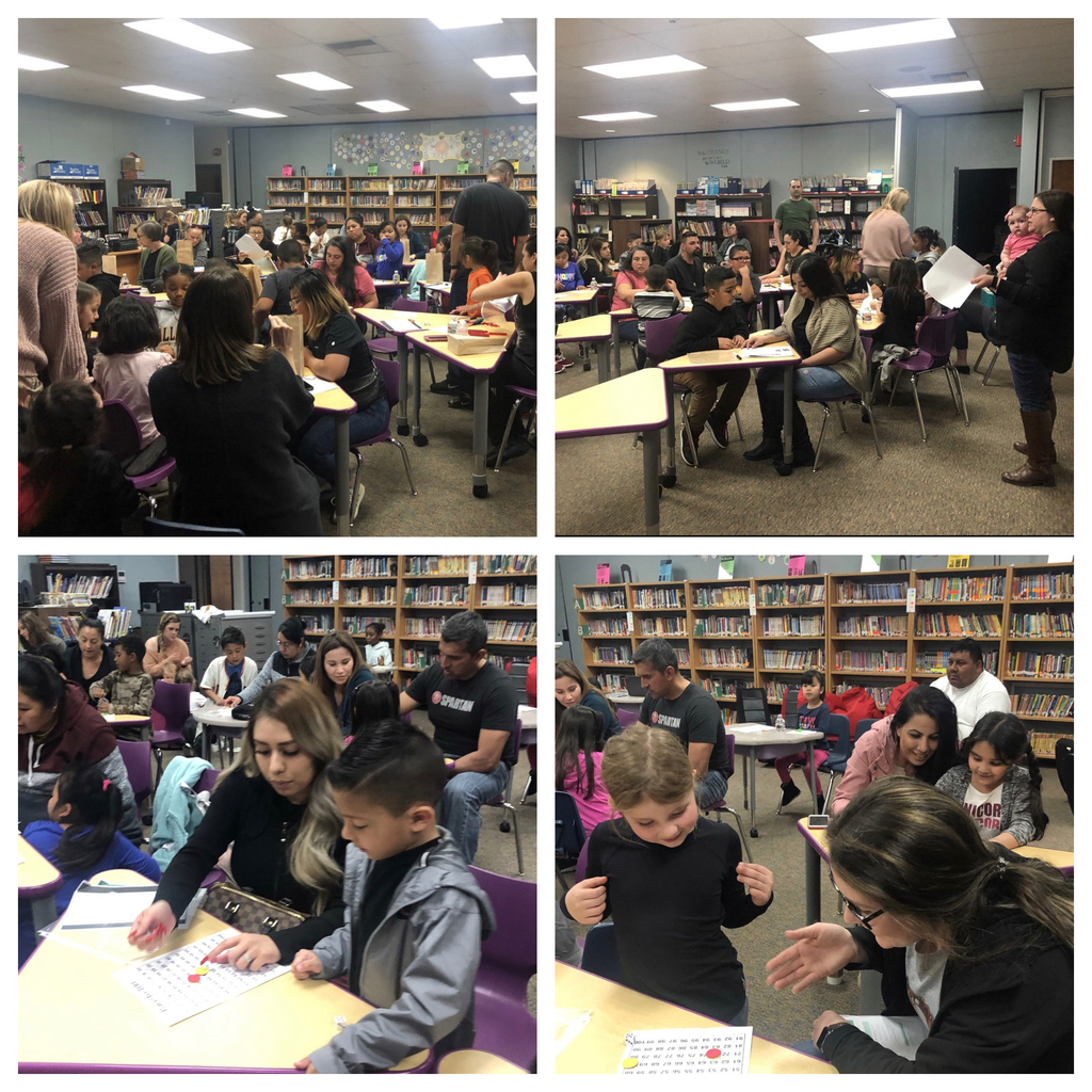 Picture of K-2 math night