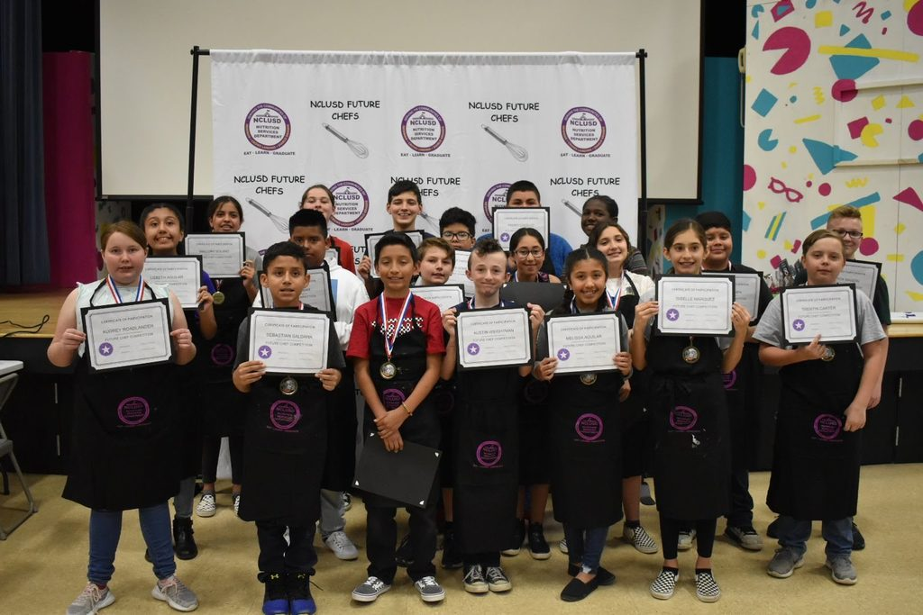 Yolo future chef participants