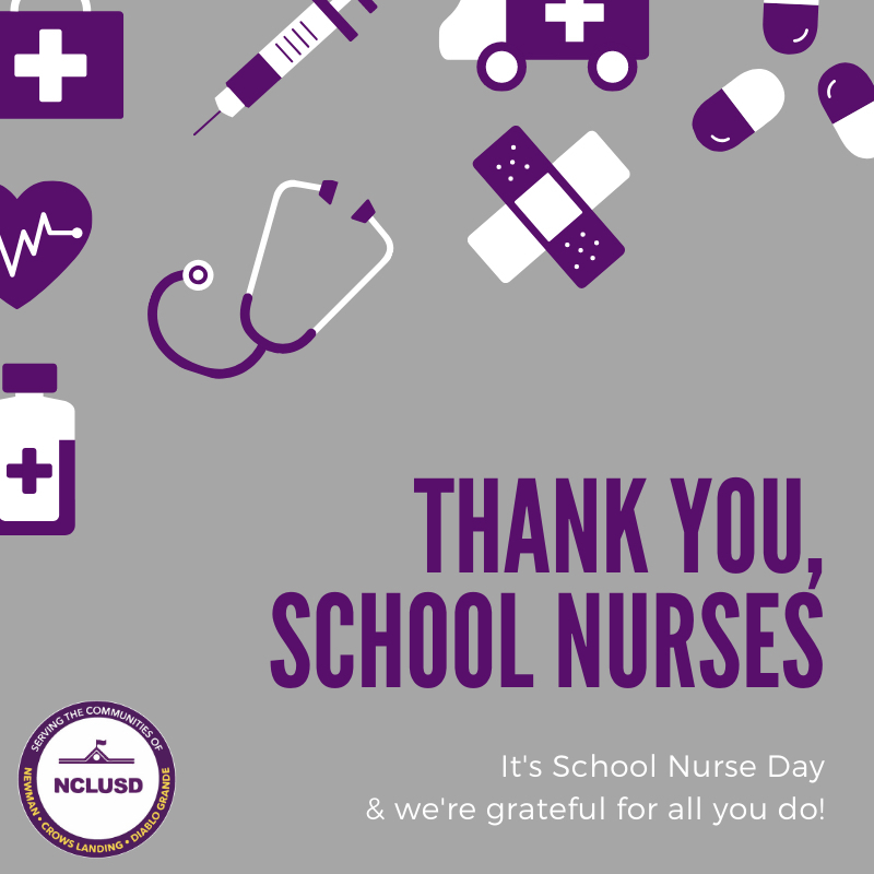 Thank you school nurses