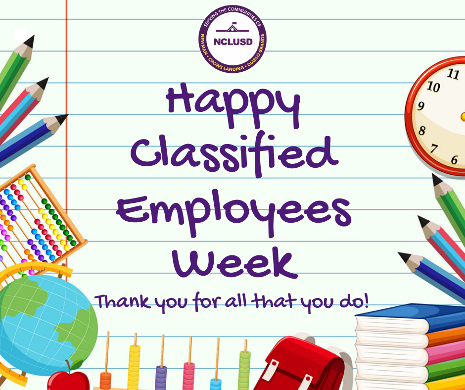 Happy Classified Employees Week