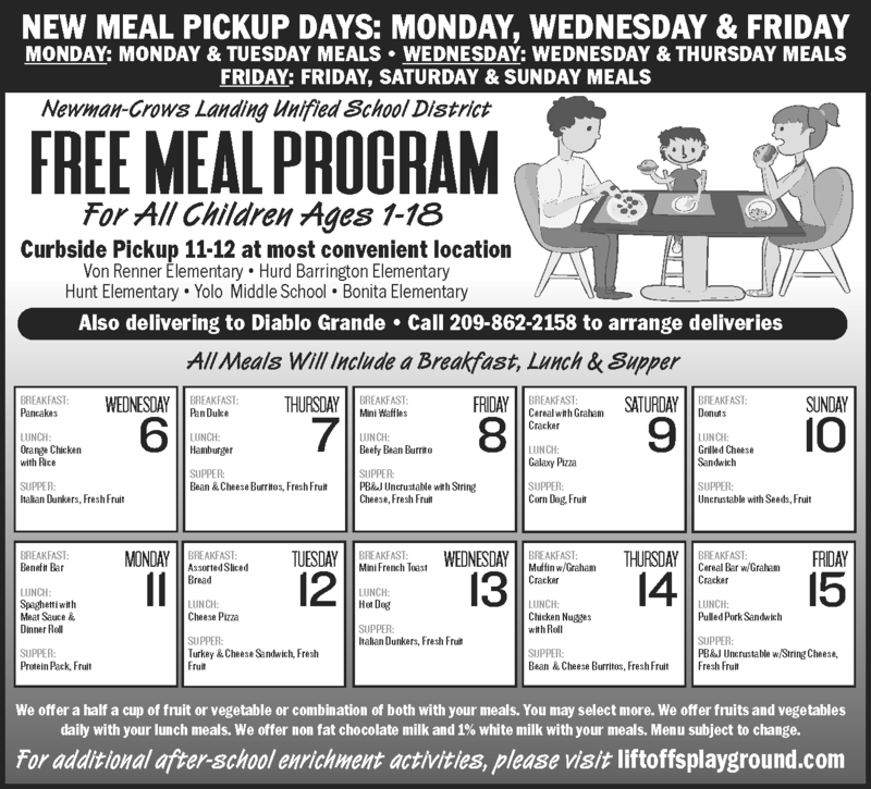 Meal Program January 2021