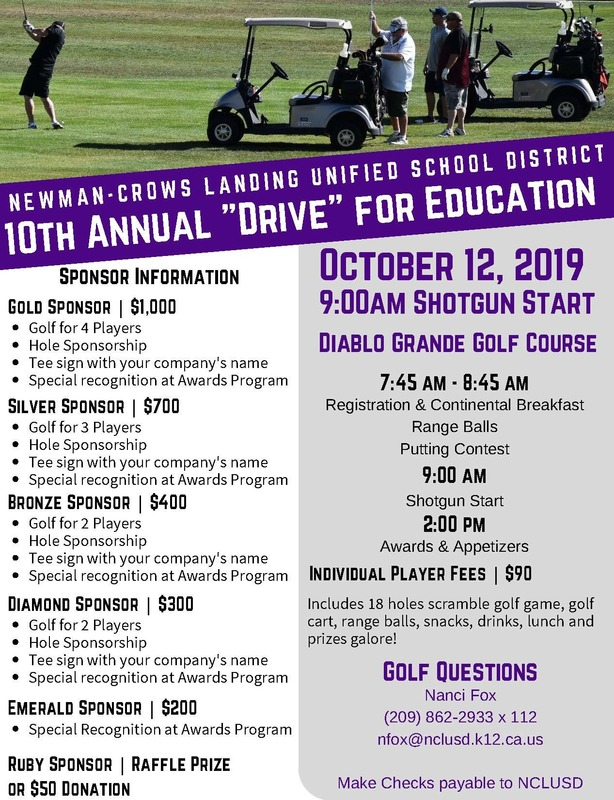 Drive for Education Flyer